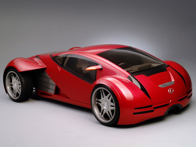 Lexus Minority Report Sports Car Concept (2002)