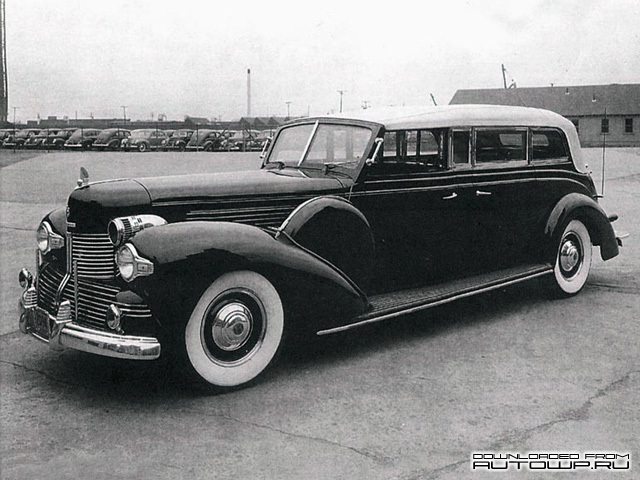 Lincoln K Sunshine Special Presidential Convertible Limousine Concept (1939)
