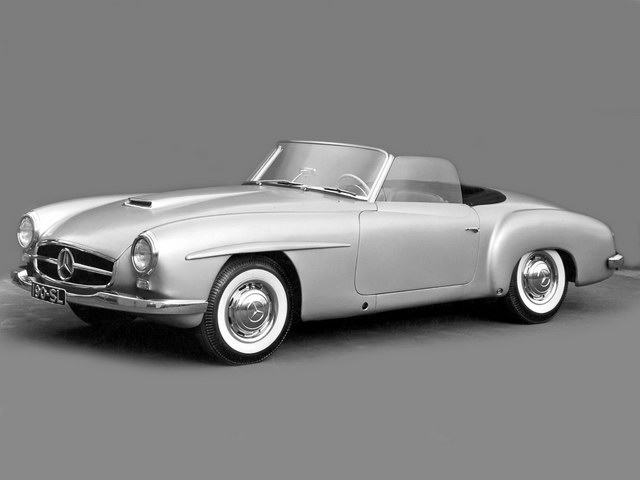 Mercedes-Benz 190SL Prototype (1954)