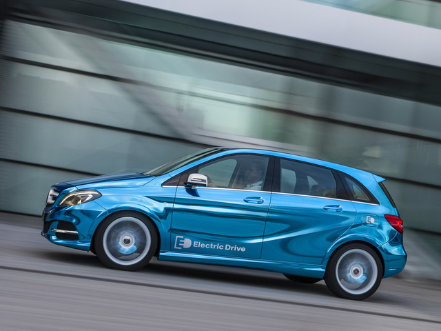 Mercedes-Benz B-Klasse Electric Drive Concept (2012)
