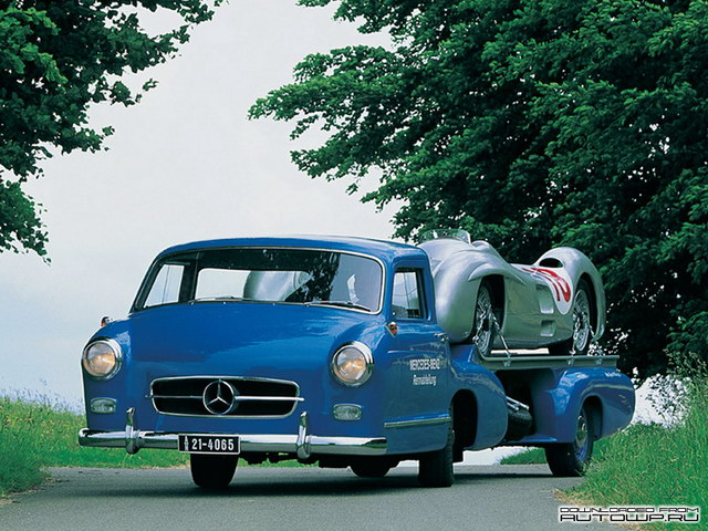 Mercedes-Benz Blue Wonder Transporter Concept (1954)