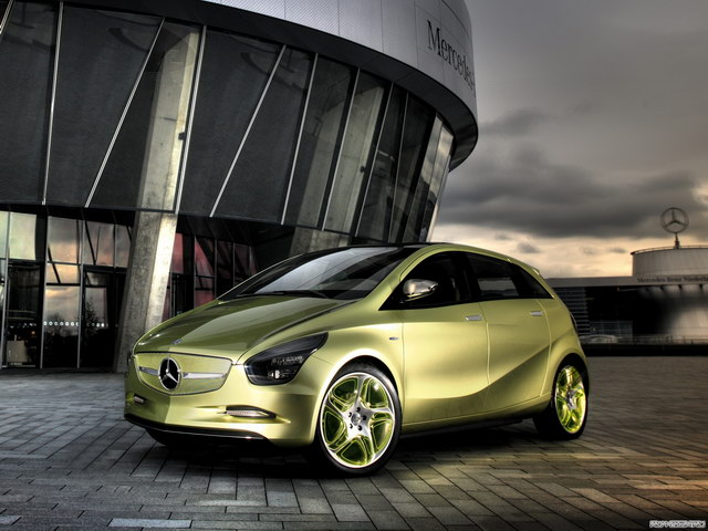 Mercedes-Benz BlueZero Concept (2009)