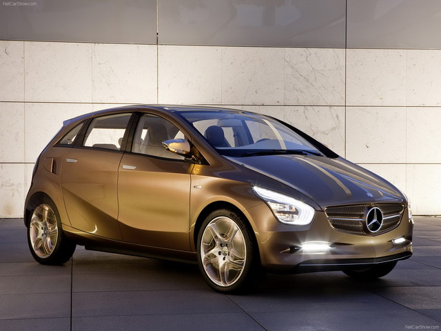 Mercedes-Benz BlueZero E-Cell Plus Concept (2009)