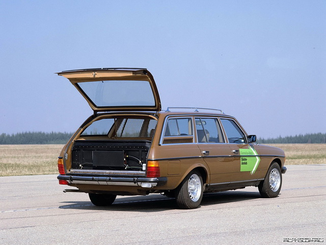 Mercedes-Benz E-Klasse Estate Elektro-Antrieb Prototype