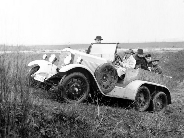 Mercedes-Benz G1 Prototype (1926)