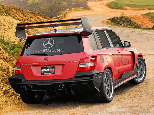 Mercedes-Benz GLK350 Pikes Peak Rally Racer Concept (2008)