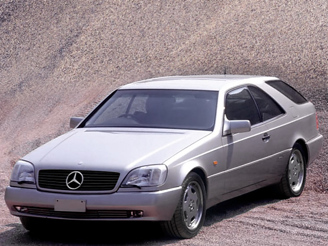 Mercedes-Benz S 500 Shooting Brake Concept (Zagato) (1994)