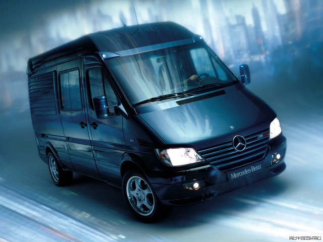 Mercedes-Benz Sprinter Mobile Black Office Concept (2001)