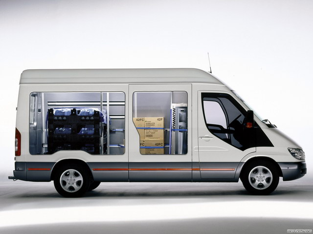 Mercedes-Benz Sprinter Safety Showcase Vehicle Concept (2004)