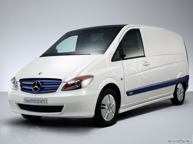 Mercedes-Benz Vito BlueEfficiency Concept (2008)