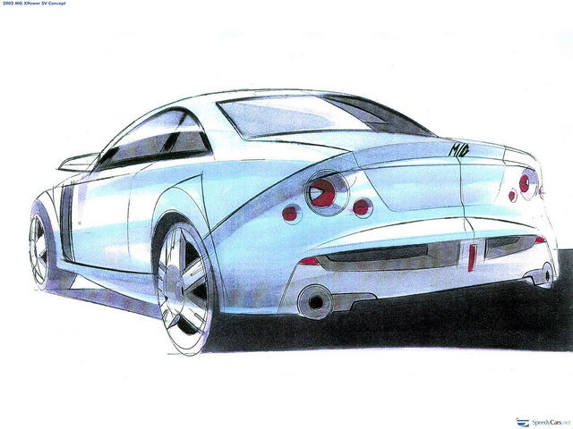 MG XPower SV Concept (2002)