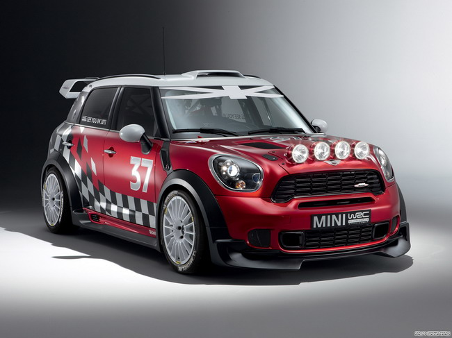Mini Countryman John Cooper Works WRC Prototype (2010)