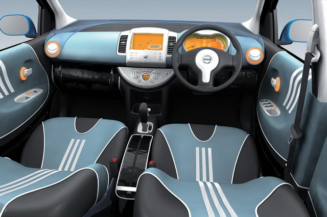 Nissan Note Adidas Concept (2005)