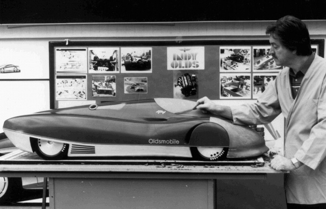 Oldsmobile Aerotech I Concept (1987)