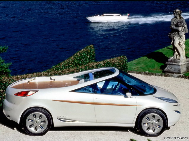 Peugeot 806 Runabout Concept (1997)