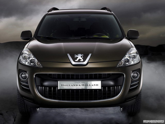 Peugeot 4007 Holland & Holland Concept (2007)