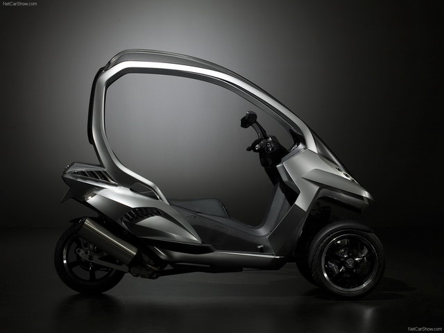 Peugeot HYmotion3 Compressor Concept (2008)