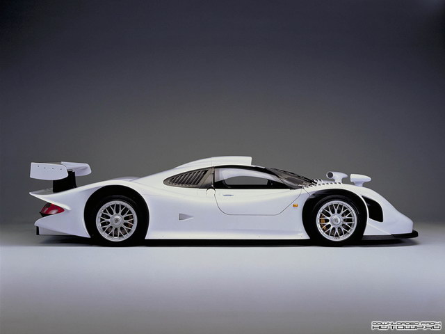 Porsche 911 GT1 Road Version Concept (1998)