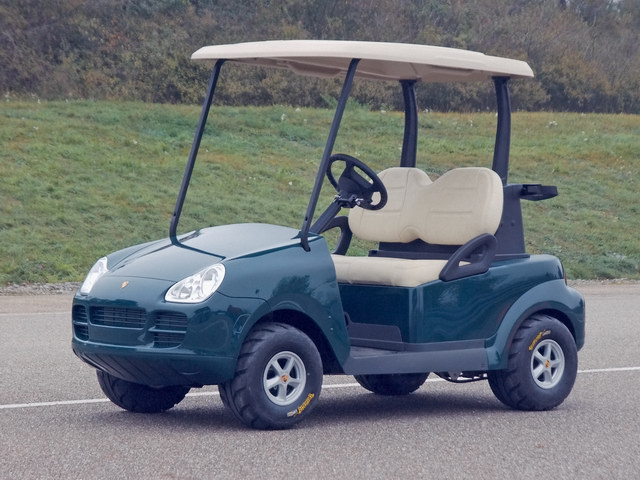 Porsche Cayenne Golf Cart Prototype (2005)