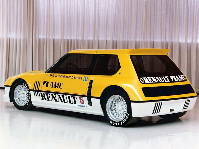 Renault 5 Turbo II PPG Indy Pace Car Concept (1982)