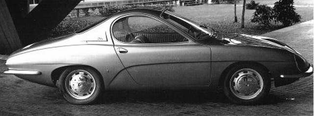 Renault R8 Sport Coupe Prototype (Ghia) (1964)