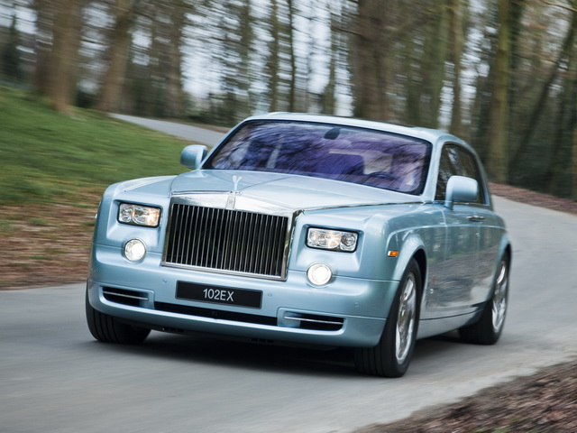 Rolls-Royce 102EX Electric Concept (2011)