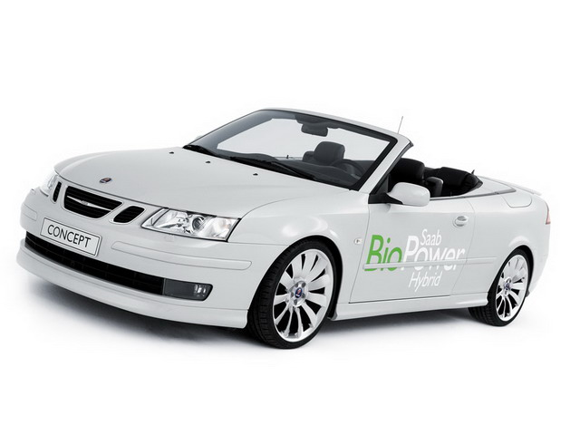 SAAB 9-3 Convertible BioPower Hybrid Concept (2006)