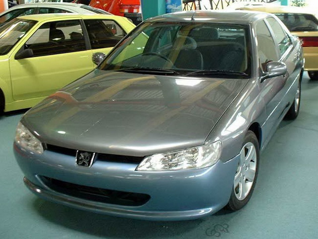 Sbarro Peugeot 406 Restyling Concept (2001)