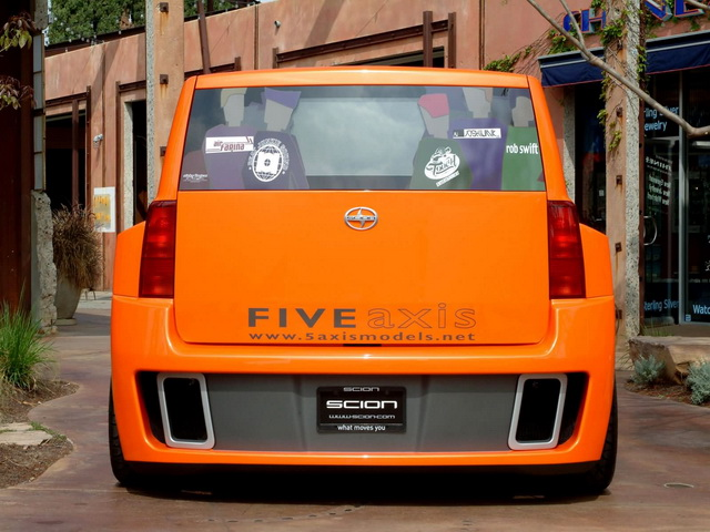 Scion xB DJ Widebody Five Axis Concept (2005)