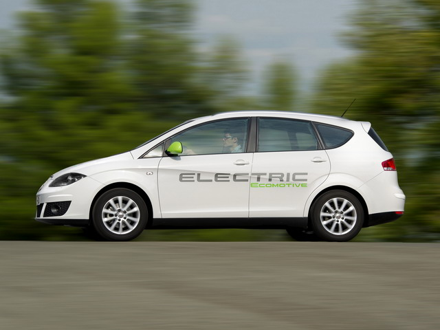 SEAT Altea XL Electric Ecomotive Concept (2011)