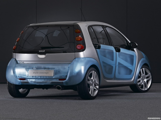 Smart ForFour Style Cool & Cosy Concept (2005)
