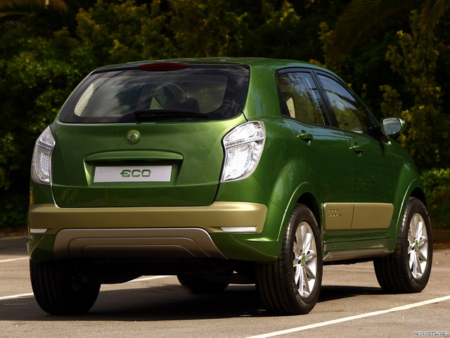 SsangYong C200 Eco Hybrid Concept (2009)