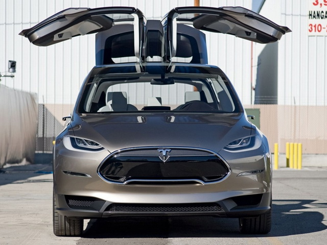 Tesla Model X Prototype (2012)