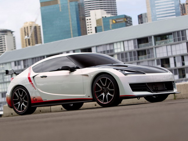 Toyota FT-86 G Sports Concept (2010)