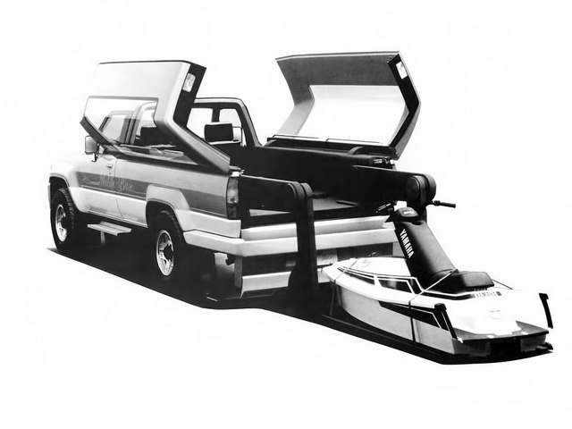 Toyota Mobile Base Concept (1987)