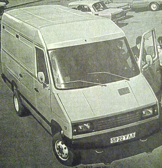 УАЗ 3727 Опытный (1985)
