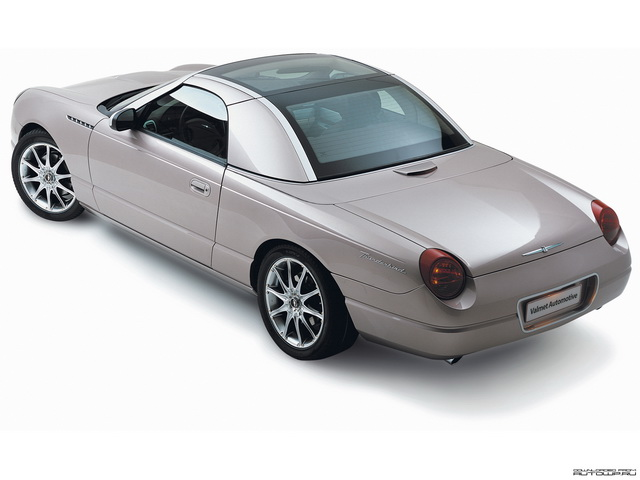 Valmet Ford Thunderbird Retractable Glass Roof Concept (2003)