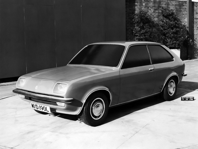 Vauxhall Chevette Hatchback Styling Model Concept (1973)