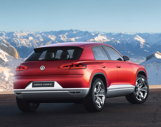 Volkswagen Cross Coupe TDI Concept 2012)
