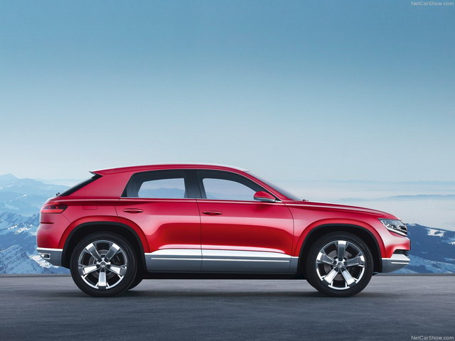 Volkswagen Cross Coupe TDI Concept (2012)