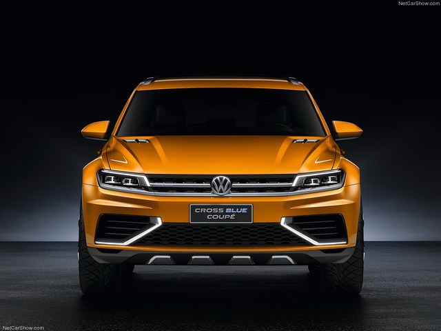 Volkswagen CrossBlue Coupe Concept (2013)