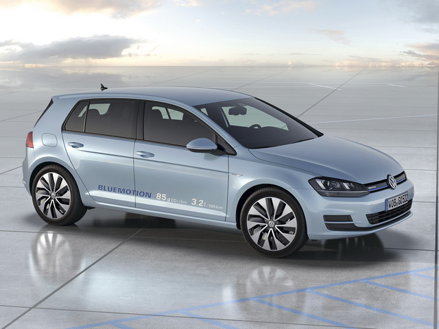 Volkswagen Golf BlueMotion Concept (2012)