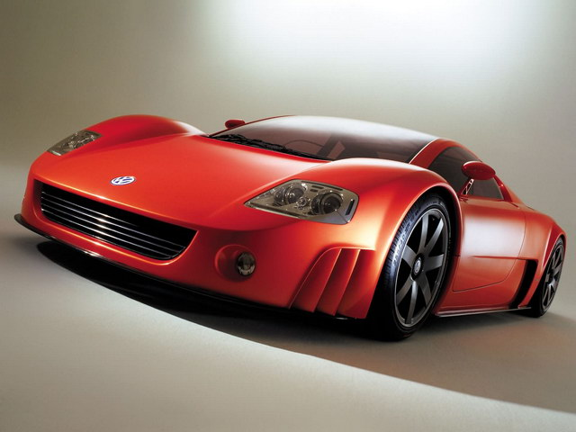 Volkswagen W12 Coupe Concept (2001)