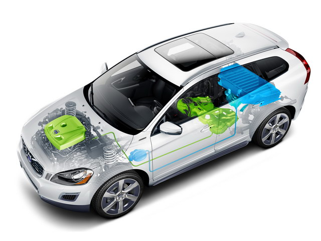 Volvo XC60 Plug-in Hybrid Concept (2012)