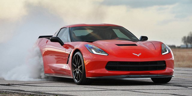Тюнинг Chevrolet Corvette Stingray от ателье Hennessey Performance