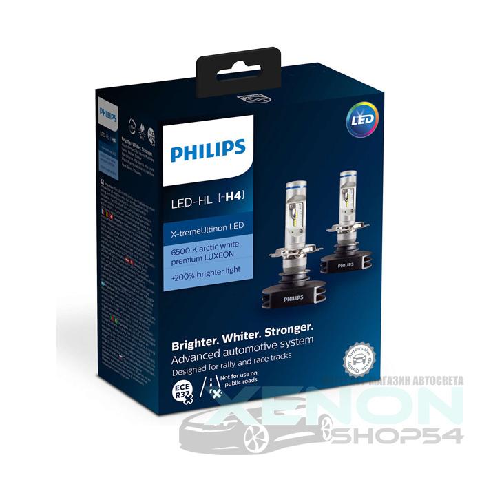 Современные светодиодные лампы для автомобиля H4