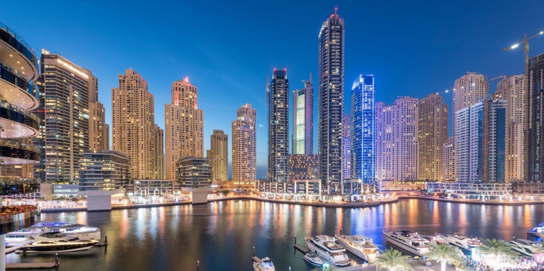 центр Дубаи
